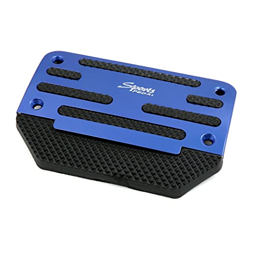 sourcing map 2 Piezas Vehículo Manual Tapa Placa de Pedal Acelerador Embrague Freno Aluminio Azul: Amazon.es: Coche y moto
