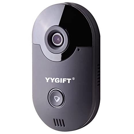 YYGIFT Smart Video WiFi Doorbell Remote Access See Who's at The Door & Say  Hello from Anywhere in The World 10M Night Vision Free iOS and Android App