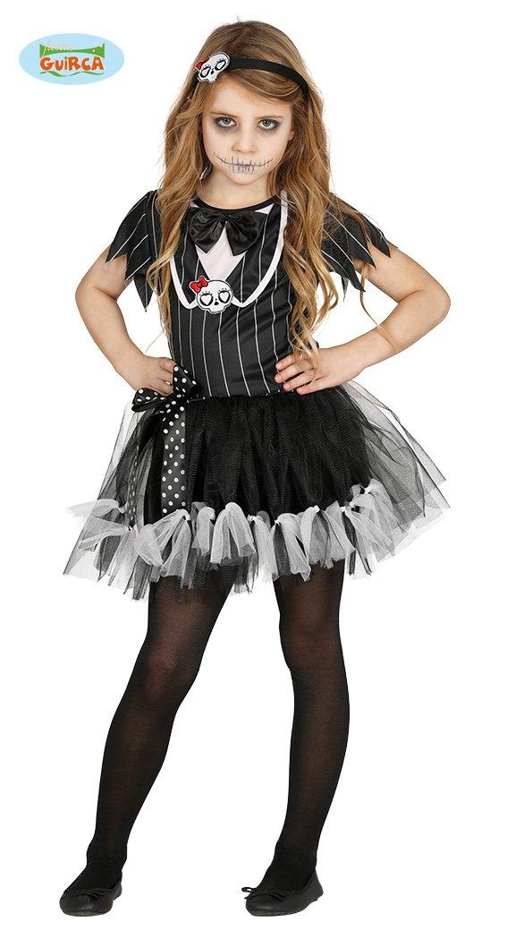 Disfraz de Esqueleto Deluxe para niña: Amazon.es: Juguetes y juegos