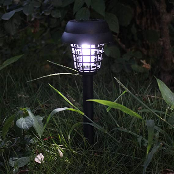 Lampe anti-moustique solaire Mobestech Metal Mesh Cover Mosquito Killer