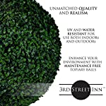 3rd-Street-Inn-Topiary-Ball-Artificial-Topiary-Plant-Wedding-Decor-IndoorOutdoor-Artificial-Plant-Ball-Topiary-Tree-Substitute