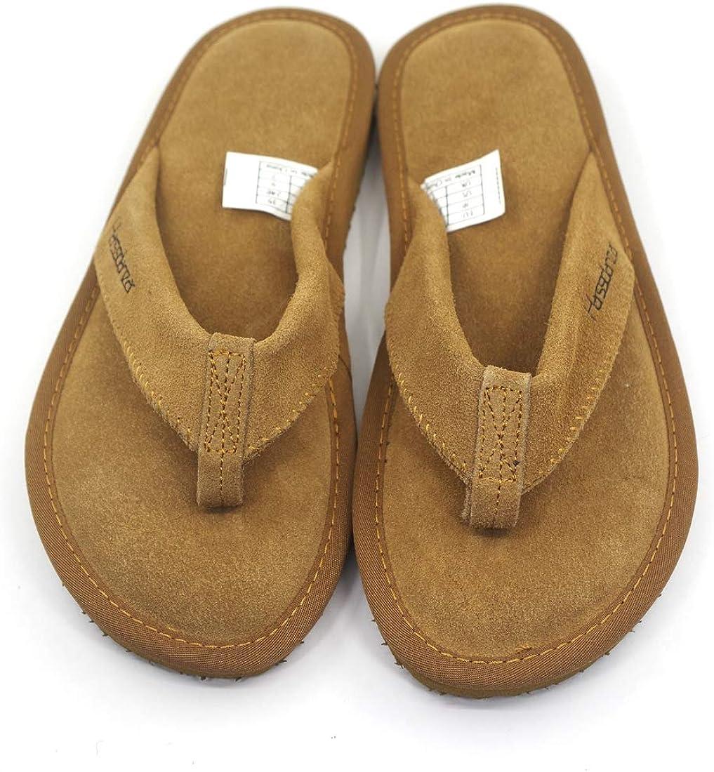 Harssidanzar Tongs Cuir pour Femme Chaussons Chaussures de Plage et Piscine GL204