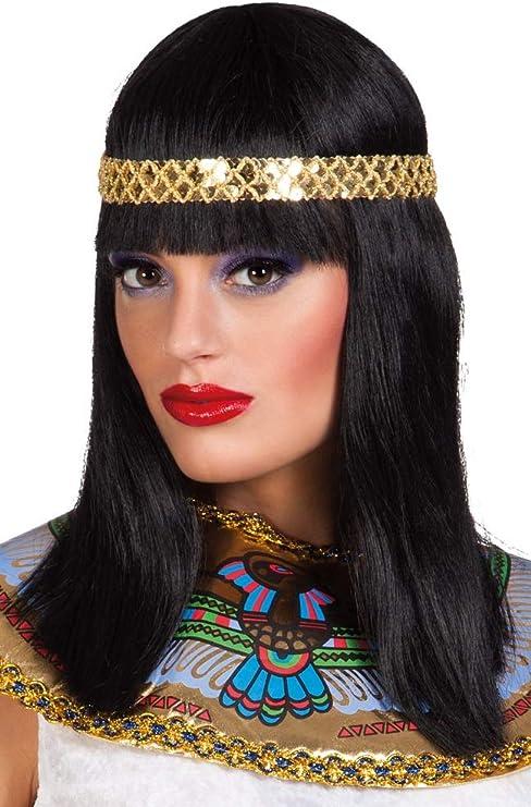 Gold Egyptian Style Headdress Cleopatra Pharaoh Style Fancy Dress