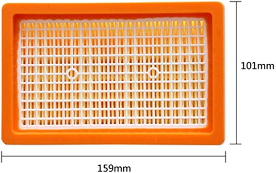 Iswell Replacement Filter for K/ärcher WD5 WD6 WD4 MV4 MV5 MV6 Wet and Dry Vacuum Cleaner
