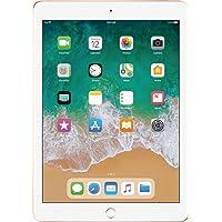Apple iPad with WiFi, 128GB, Gold (2018 Model)(Versión EE.UU., importado)