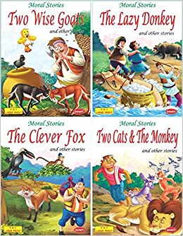 Amazon in: Buy story book for kids (English) - Lazy Donkey-2