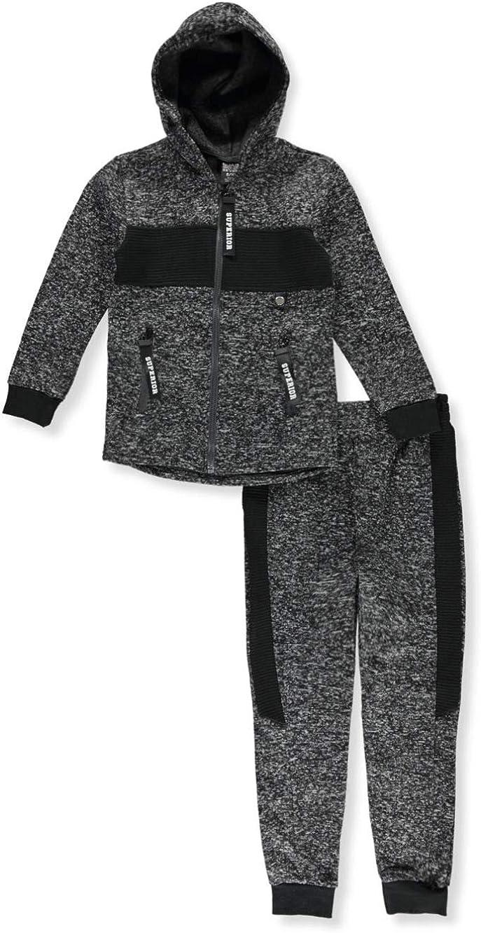 Quad Seven Boys Fleece 2-Piece Joggers Set Outfit