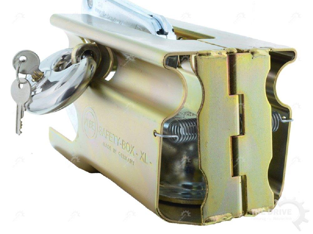 DT Parts SAFETY BOX XL - Dispositivo de bloqueo (con candado, protecció n frente a robos) The Drive 10984-01