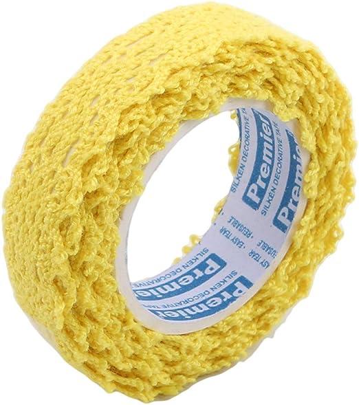Weiy - Rollo de Cinta Adhesiva de Encaje de algodón para ...