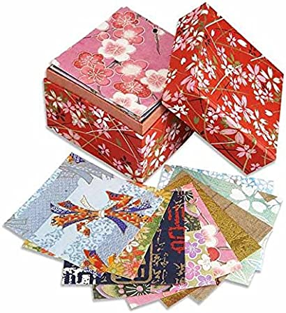 Carta pieghevole da origami giapponese washi