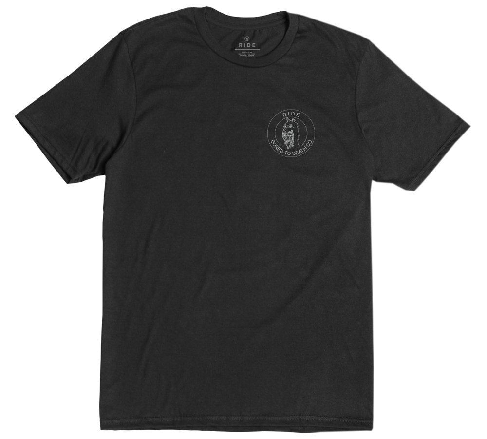 Ride Snowboard Outerwear Bored to Death Tee