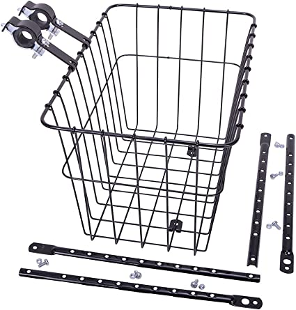 Wald Bicycle Grocery Basket 585 Rear Rack-Top 14 x 9 x 9/""