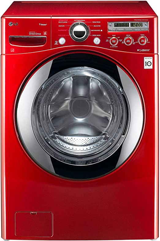 LG WM2650HRA Independiente Carga frontal 10.1kg 1200RPM Rojo ...