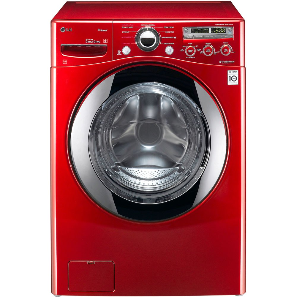 Steam Technology Washer Amazoncom Lg Wm2650hrasteamwasher 36 Cu Ft Wild Cherry Red