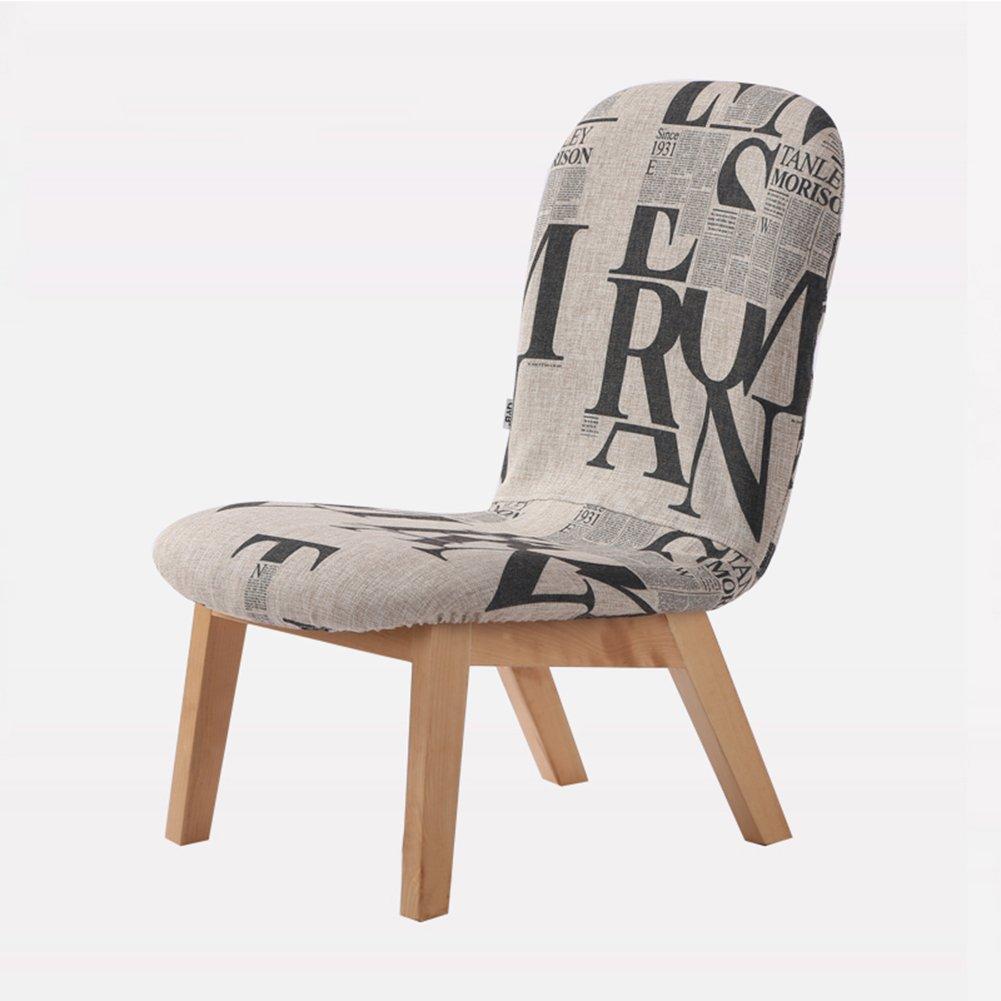 ZEMIN ダイニングチェア椅子の木の木製折り畳み 椅子 ソファー シート スツール 表 ポータブル 背もたれ 木製 固体 木材 柔らかい パッド入り 居心地の良い クリエイティブ 安定 多機能、 6色使用可能、 47.5x64x69.5cm ( 色 : B#2 ) B078RL2Y3MB#2
