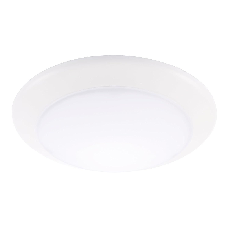 getinlight LEDディスクライトwithフラッシュマウントまたは埋め込み、6インチ、3000 K (ソフトホワイト)、4000 K (明るいホワイト、ETL濡れ場所リストされ、in-0301 – 3 6-inch-White ホワイト IN-0301-3-WH 6-inch-White 3000K(Soft White) 3000K(Soft White) 6-inch-White B01D0YXAWW