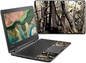 """MightySkins Skin Compatible with Lenovo 300e Chromebook 11.6"""" (2018) - Tree Camo 
