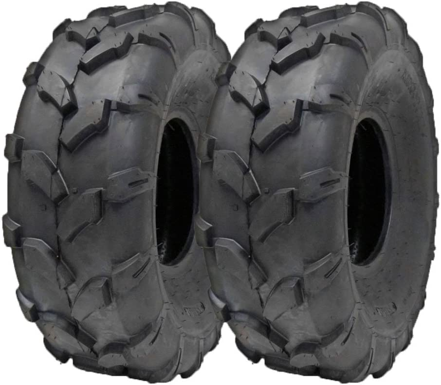 SET OF TWO: ATV Tubeless Tire 19x7-8 Baby Falcon 175//80-8 Falcon fits KAZUMA Panda P80 Lacoste
