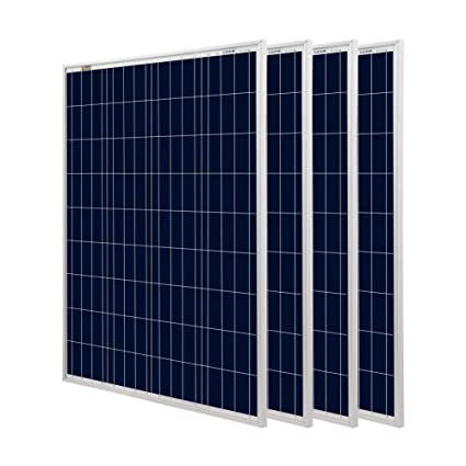 Amazon.com: Richsolar Panel solar 100 vatios policristalinos ...