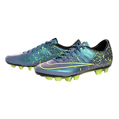 ac4d598e8846 Nike Mercurial Veloce II HG-V (651616-440) Soccer Cleats - 9uk Blue: Buy  Online at Low Prices in India - Amazon.in