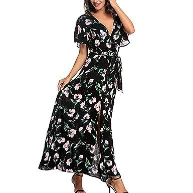 f95c195c280 Amazon.com  Yaseking Summer Boho Grow Dress