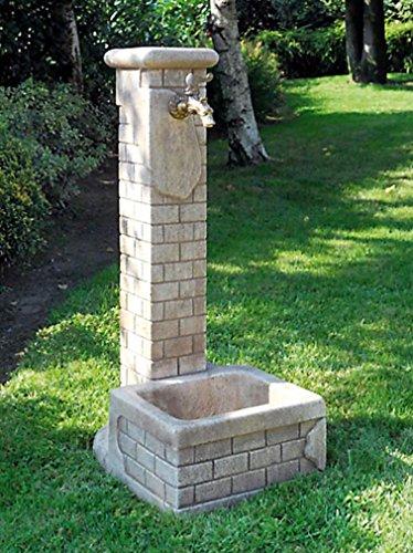 Standbrunnen BETTY H 80 Farbe weiss