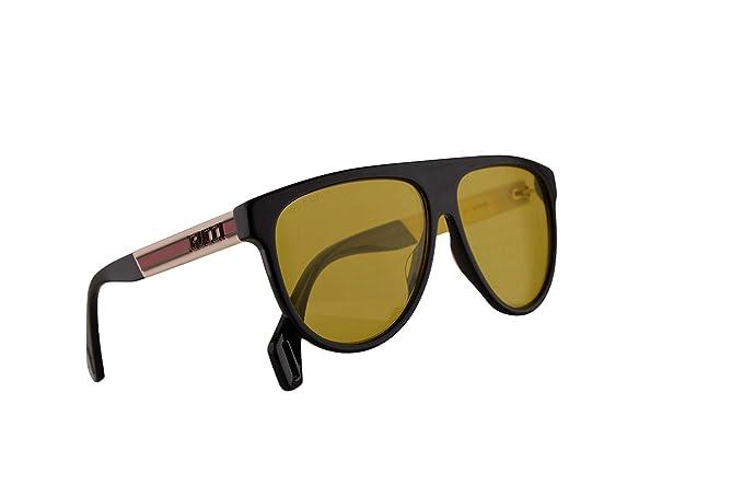 Gucci GG0462S Gafas De Sol Negro Con Lentes Amarillos 58mm ...