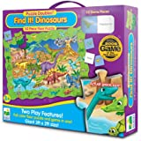 The Learning Journey Puzzle Doubles Find It! Dinosaurs Floor Puzzle