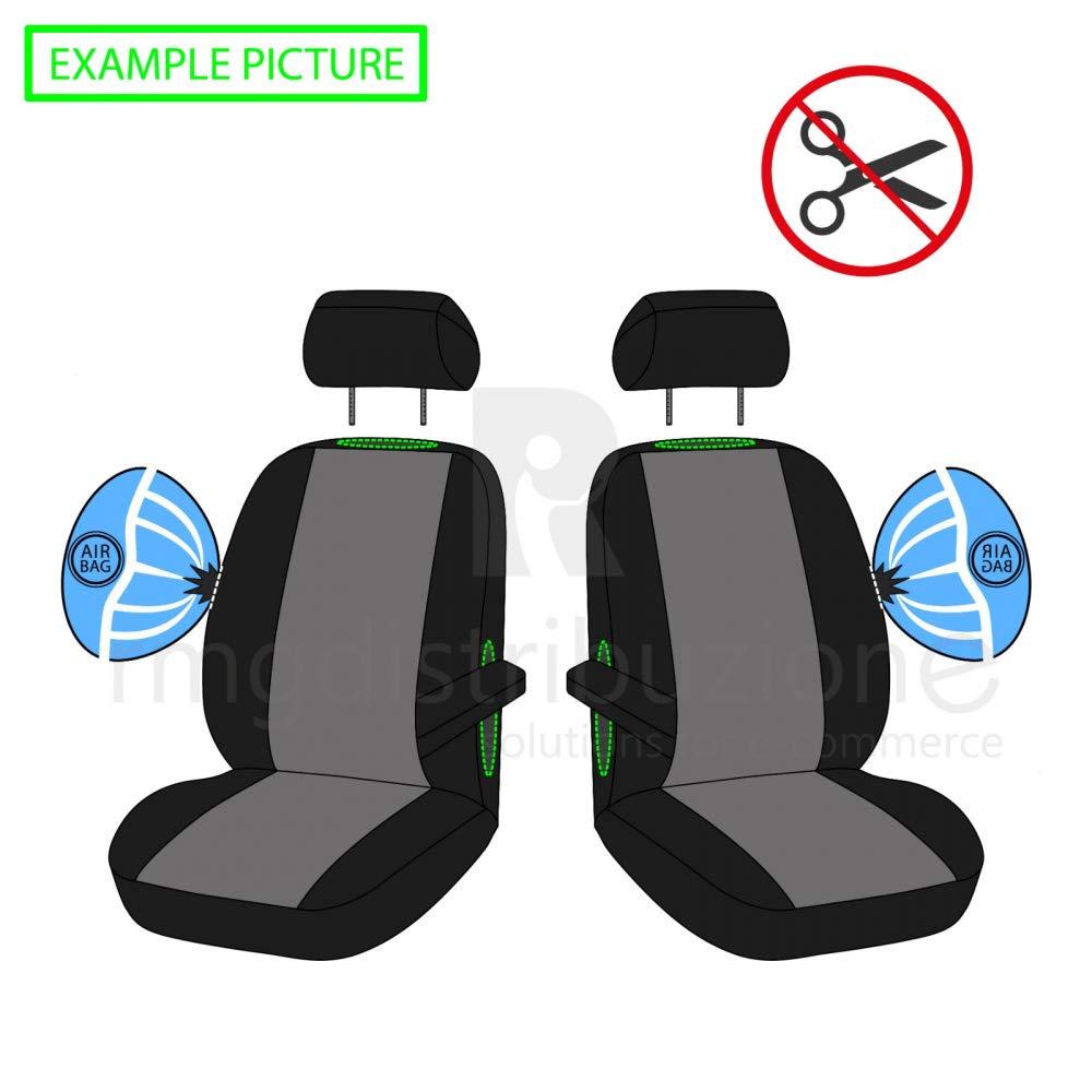 compatibili con sedili con airbag 2017 - in Poi rmg-distribuzione Coprisedili per T-ROC Versione sedili Posteriori sdoppiabili R16S0972 bracciolo Laterale
