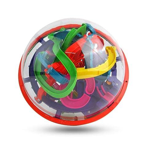 Pelota laberinto 3D AOLVO 3D con 100 barreras desafiantes y bola ...