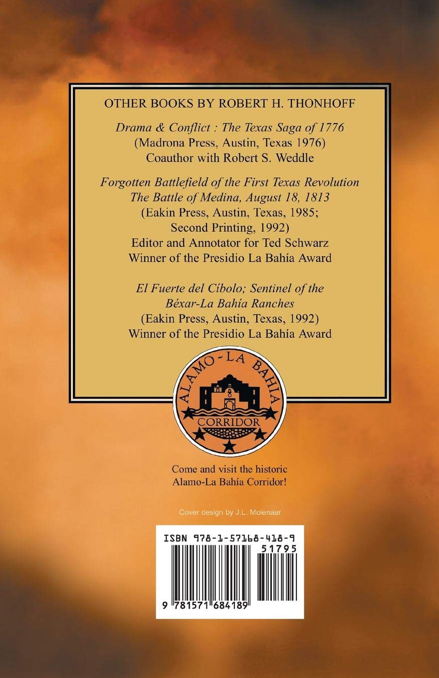 The Texas Connection with the American Revolution: Robert H. Thonhoff:  9781571684189: Amazon.com: Books