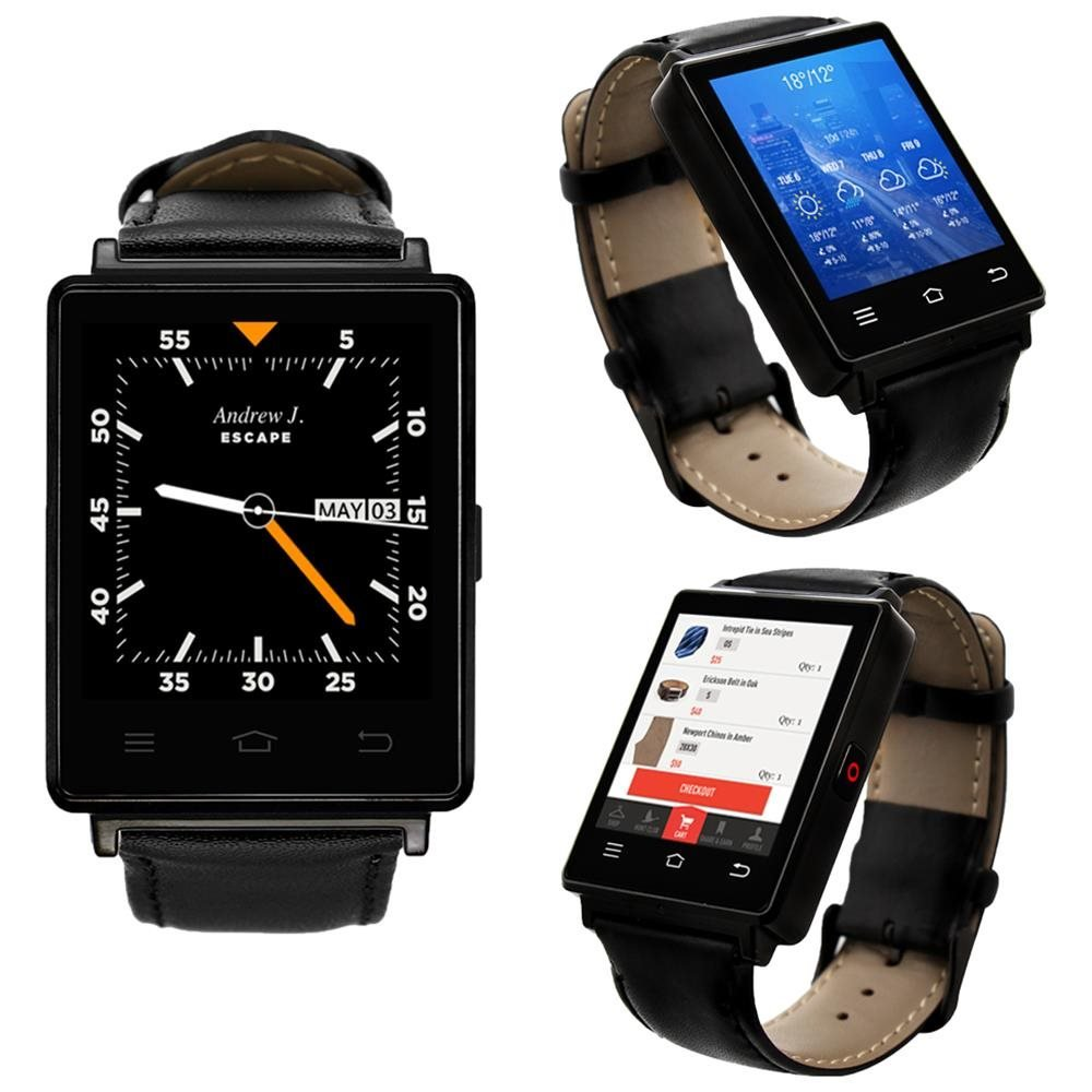Amazon.com: Premier 3G GSM Unlocked Android 5.1 SmartWatch ...