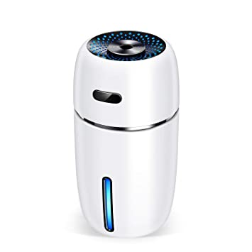 BZBRLZ Mini Tragbarer Luftbefeuchter USB Humidifier mit 7 Farben LED-Licht fl/üsterleise automatische Abschaltung einstellbar Nebel Luftbefeuchter Geschenk f/ür Kinder Baby B/üro Auto Schlafzimmer