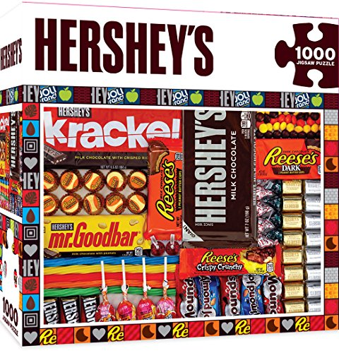 Master Pieces Hershey's Matrix - Chocolate Collage 1000 Piece Jigsaw Puzzle