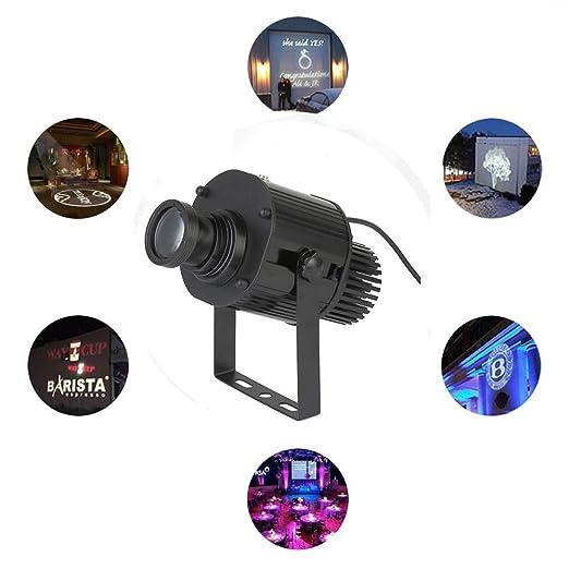 30W LED Imagen personalizada Proyector con logotipo de Gobo Luz ...
