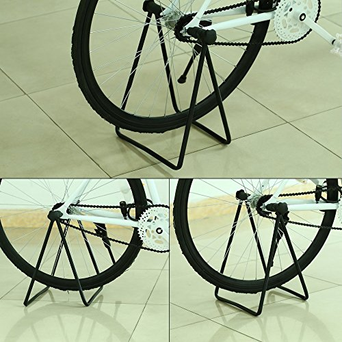 Bicycle Bike Cycling Wheel Hub Stand Kickstand Repairing Parking Holder Folding by CLKJYF