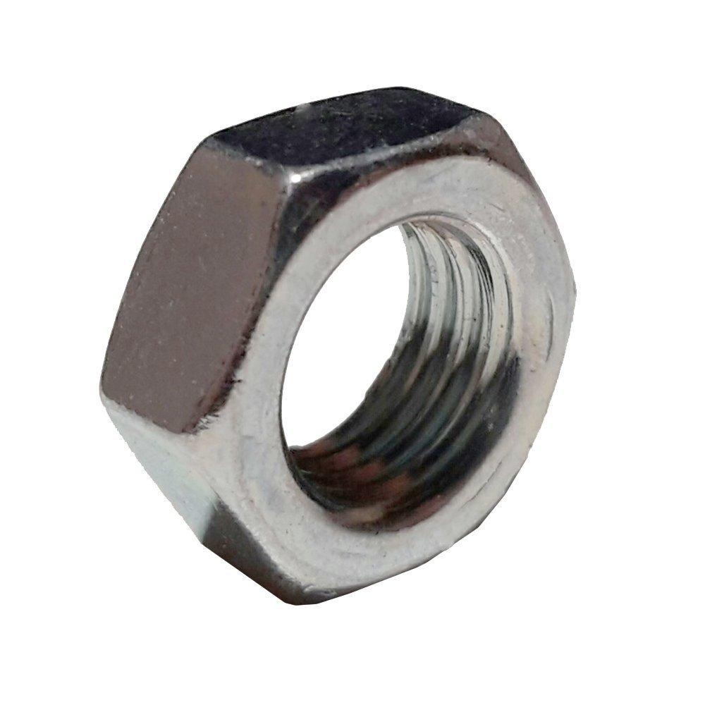Hex Nut M10X1 SW12 'Pack of 10 Galvanised 5 mm Thick Fine Thread Nut C. Palme Leuchten