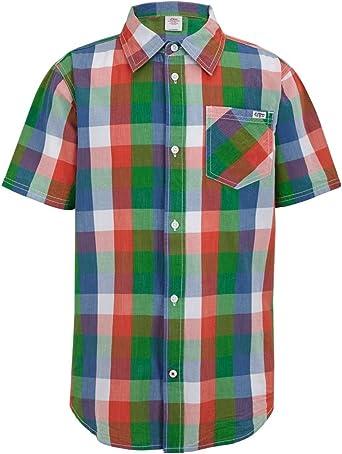 s.Oliver - Camisa de Manga Corta para niño, Talla 14 años ...