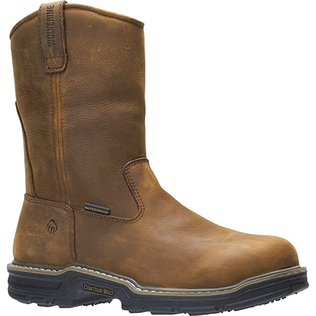 460c8fece96 Wolverine Men's Marauder Rubber Insulated Wellington Work Boot