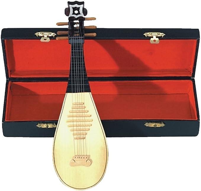 GEWA 980660 - Instrumentos en miniatura, laud con estuche, 15 cm: Amazon.es: Instrumentos musicales