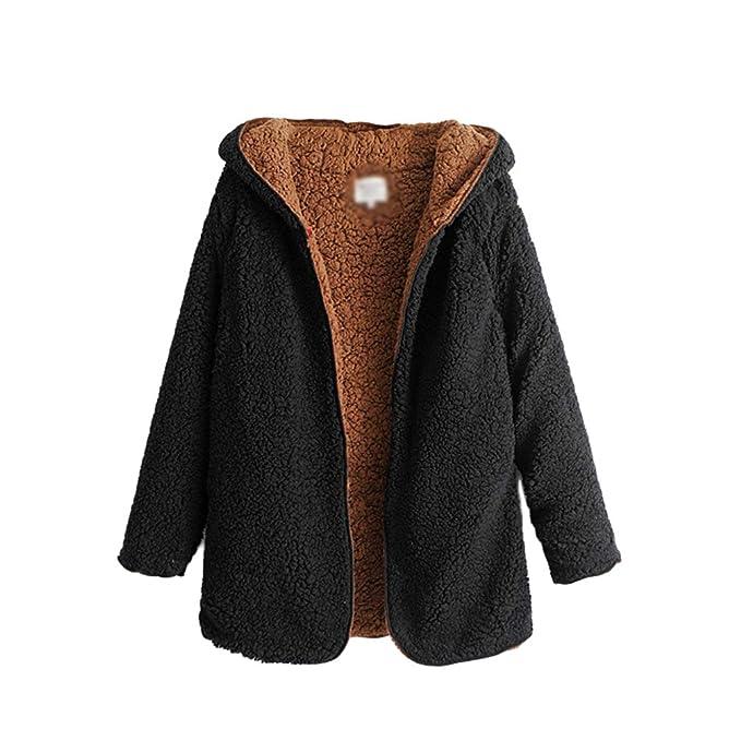 9e3d37ae42682 WanYangg Teddy Coat Womens