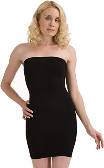 Femmes Amincissant Controle Sous Vetement Tube Robe 14 16 Noir Amazon Fr Vetements Et Accessoires