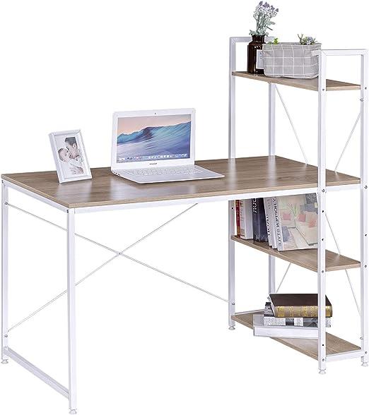 eSituro Mesa de Oficina Escritorio de Ordenador Muebles de Oficina ...