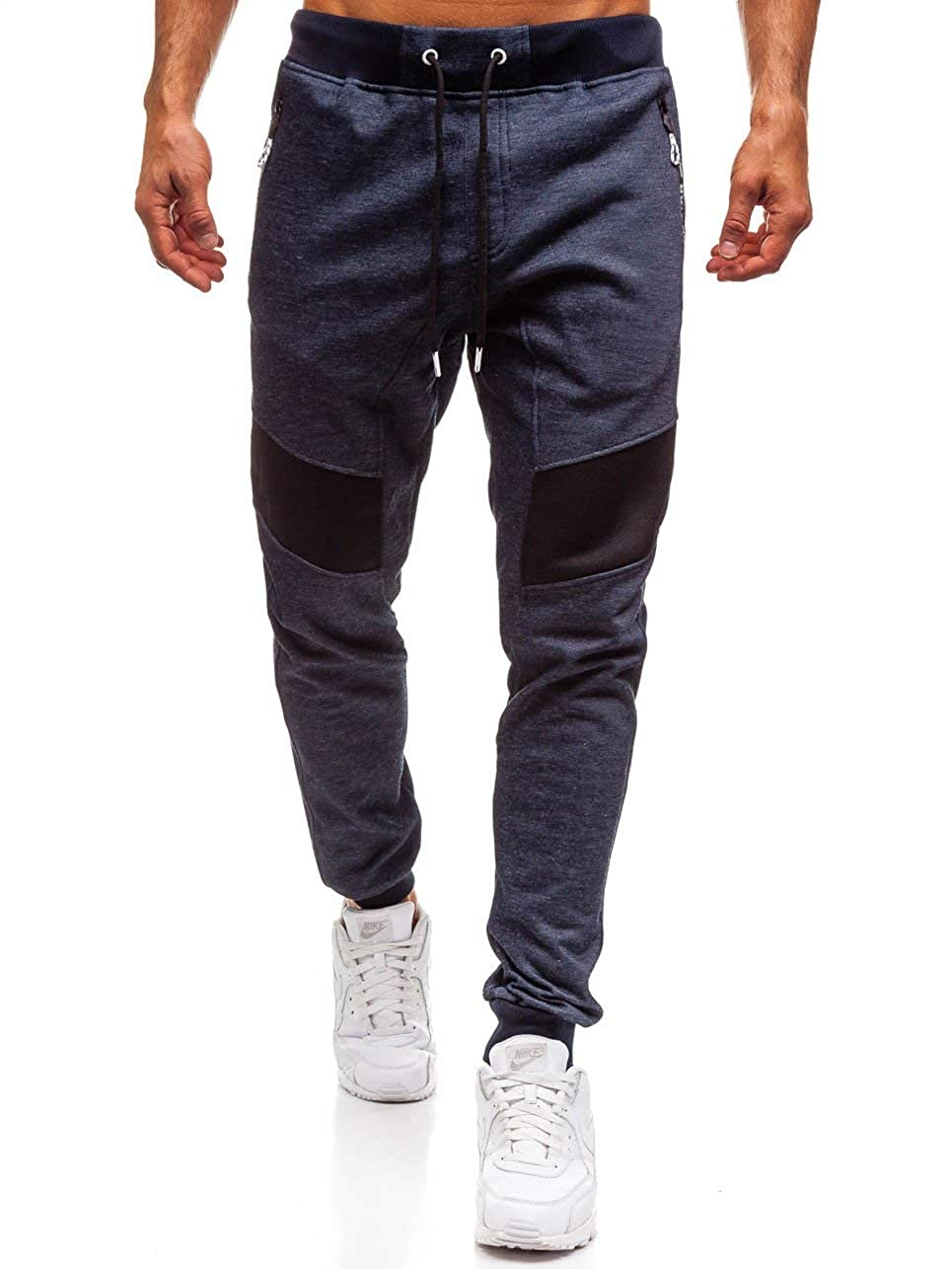 da Uomo 6F6 Patch Casual Sportivi BOLF Pantaloni