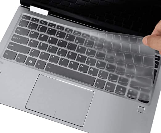 TPU CASEDAO Ultra Thin Keyboard Cover Compatible with Lenovo Yoga C940 15.6 FHD Touch Laptop Protective Skin Yoga C940 Accessories