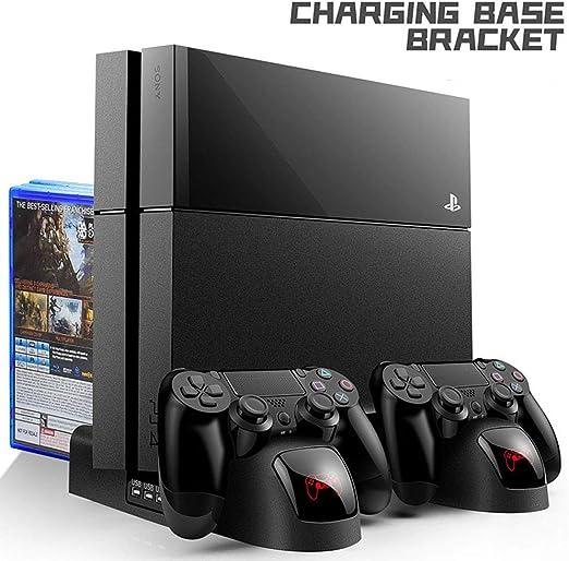 YMJJ Soporte Vertical para PS4, Soporte Vertical Todo en uno para ...