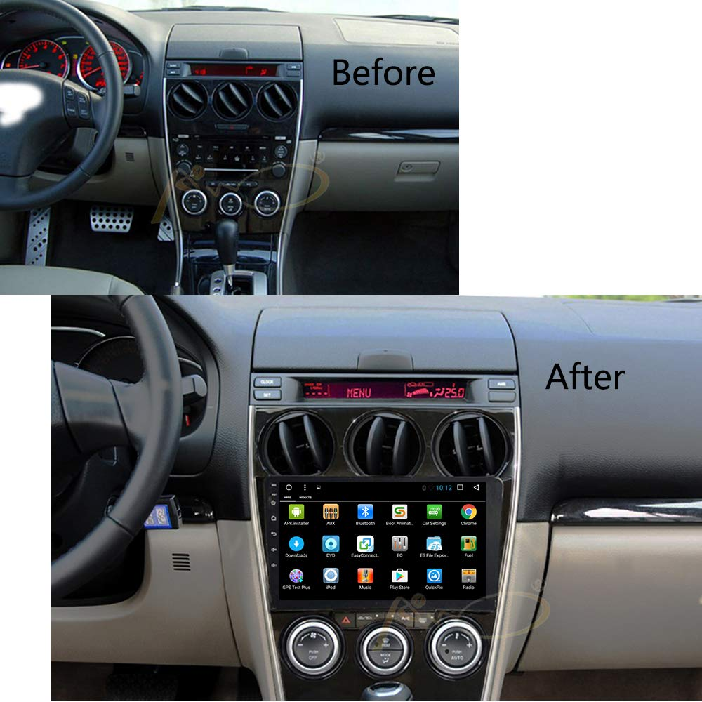Android8.0 T8 2+32G Mazda6 02-08 Android 8.0 Octa Core Car Radio Player GPS Navigation for Mazda6 Mazda 6 2002-2008 Car Stereo Console Multimedia Head Unit WiFi BT Navi