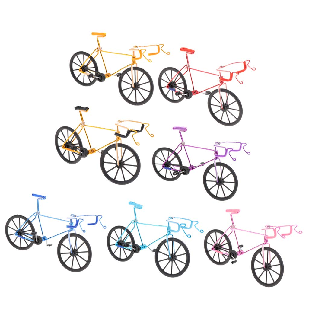 B Blesiya 1:10 Mini Bike Mod/èle Jouet pour Enfants et Adultes en M/étal Jouet Doigt Mod/èle de Bike Gadgets Cadeau pour Collectionneur Rose