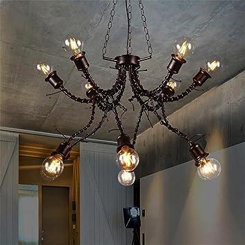 Atmko®Iluminación colgante Lámparas de araña LED araña de ...