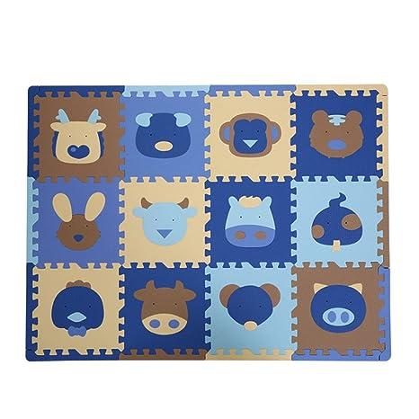 Amazoncom Baoblaze Kids Foam Puzzle Floor Play Mat Interlocking